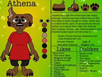 Athena The Shepherd pit by thefurfighter06