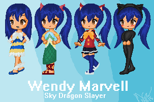 Wendy Marvell by renesma0