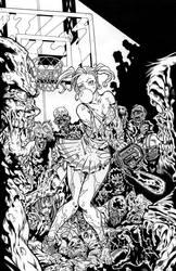 Zombies vs Cheerleaders-Campos
