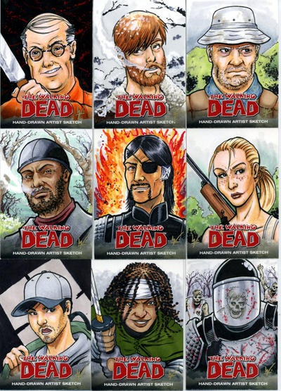 book of the dead characters