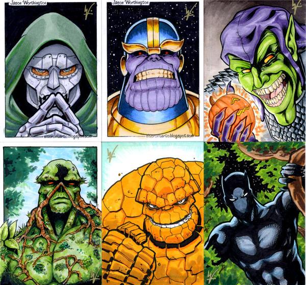 Heroes and Villains PSCs by eltoromuerto