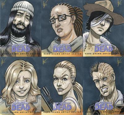Walking Dead Comic Book Series 2 by eltoromuerto