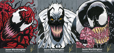 Symbiote Trio by eltoromuerto