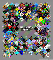 Pixelation Quilt: Retro Gaming