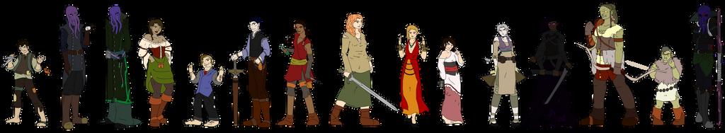 MOtF Original Characters