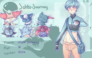 Johto Journey | Trainer Alois wants to battle ! by kennolini