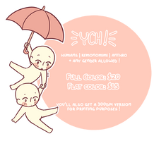 YCH | Floating Umbrella [OPEN] by kennolini