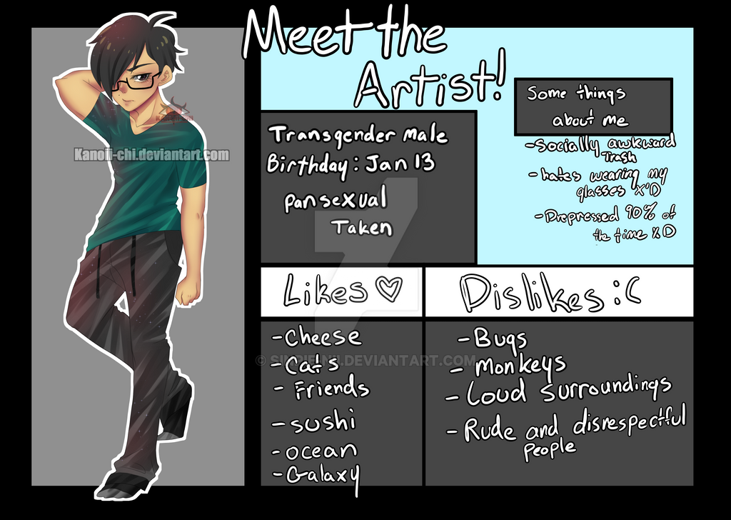 Meet The Artist by kanoii-chi