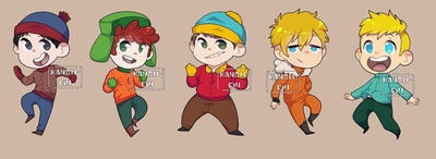 South Park batch 1 PREORDER by kanoii-chi