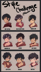 STYLE challenge meme by kanoii-chi