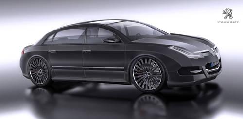 Peugeot limousine concept car