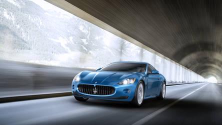Car render Maserati GranTourismo