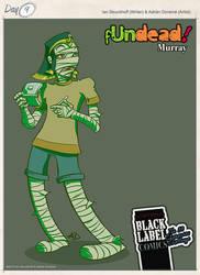Murray the mummy by eidrien