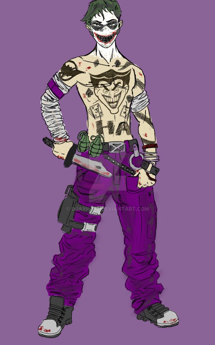 Psycho Joker Concept No Straight Jacket By Drayphly On Deviantart