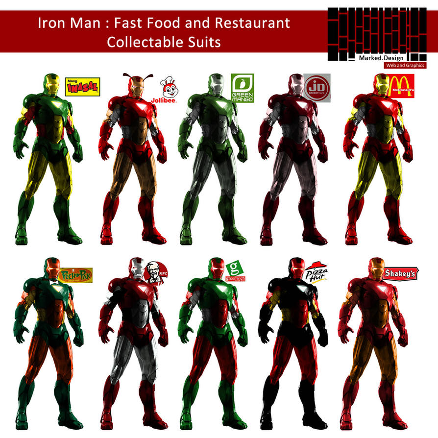 iron man suits list