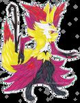 Delphox and Braxien Fusion