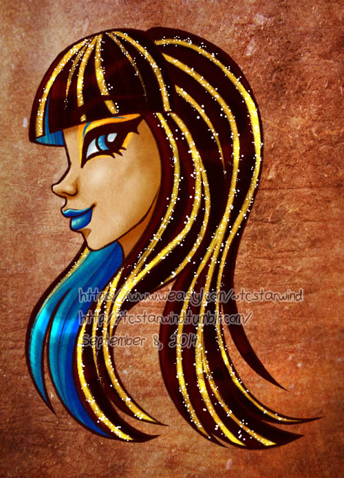 Queen of de Nile by TCStarwind