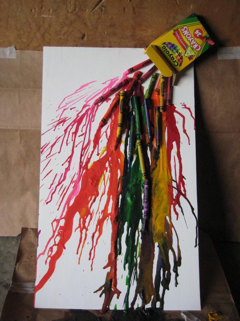 Proyectos crayón derretidos ()