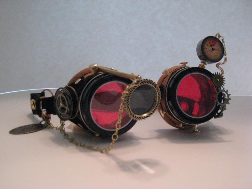 Steampunk Goggles by PrinceJillian on DeviantArt