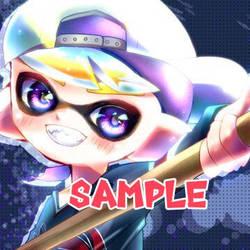 Commission - Octoling (Splatoon2) by POPONASHI