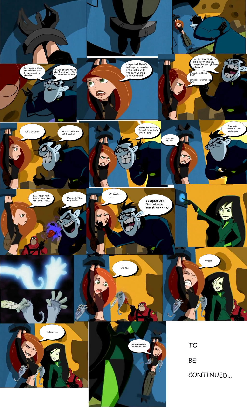 Kim possible strip