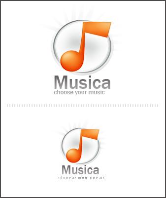 logo - music by Skyz01