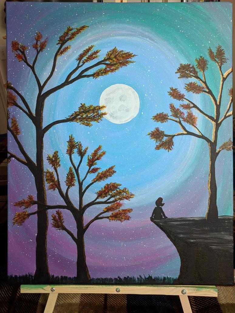 Talking To The Moon by ruadotcom