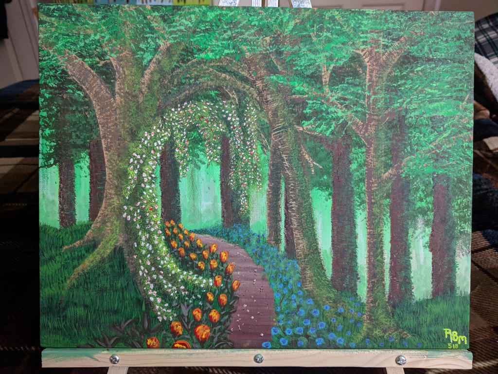 Woodland Path by ruadotcom