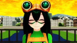 [MMD||BNHA] *Happy Frog Noises* [TSUYU DL]
