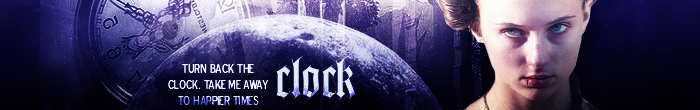 Clock - Sansa Stark banner by Girlinacartoon