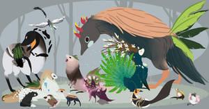 Birdie Esks by Picatharte