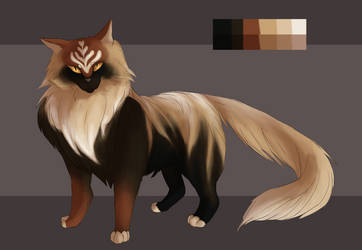 {Creature Exchange} Maine Coon by Picatharte