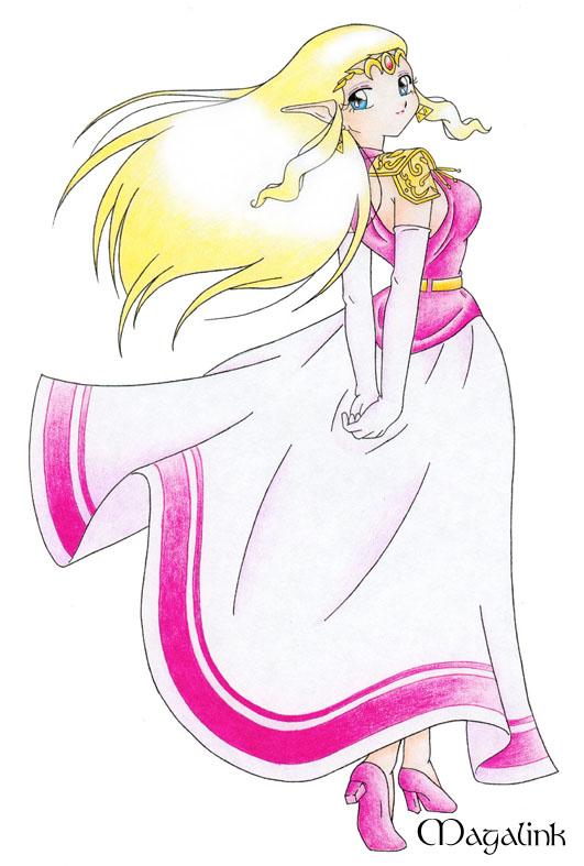 Princess Zelda Oot By Mrsmagalink On Deviantart