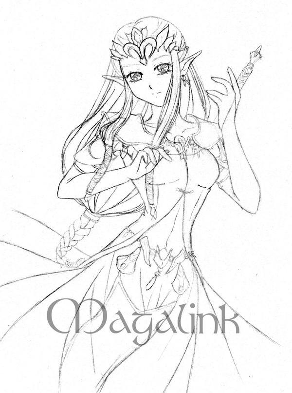 Another Zelda TP Sketch XD by MrsMagalink on DeviantArt