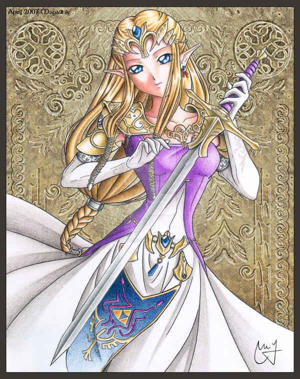 Princess Zelda :TP: by MrsMagalink
