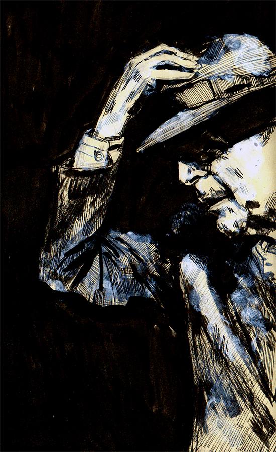 Leonard Cohen by GregoryStephenson