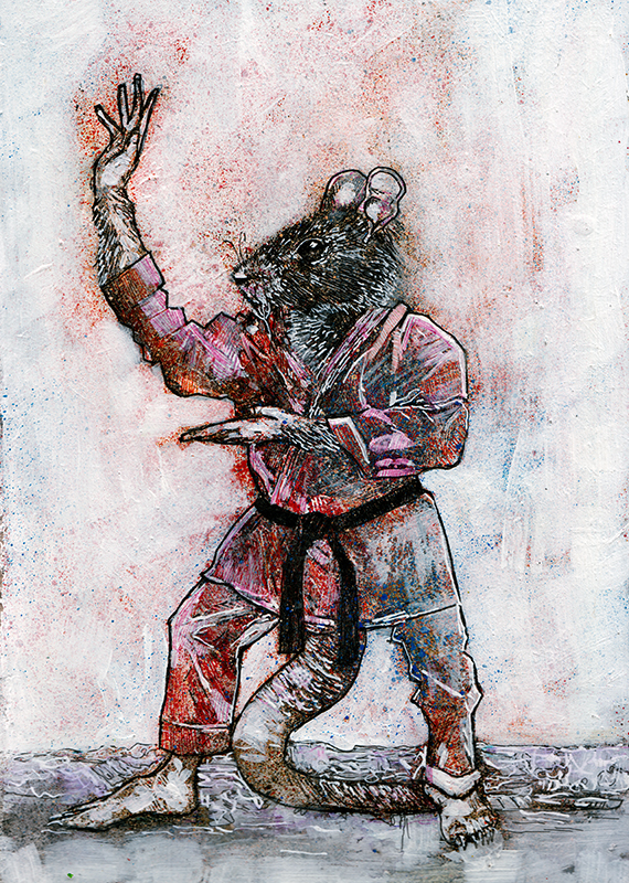 Hamato Yoshi by GregoryStephenson