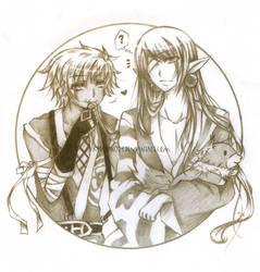 :Req: Chayim and Haku by K224