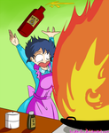 Cooking with Akane