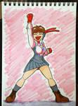 Sakura Kasugano Street Fighter V