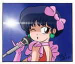 Akane Tendou Singing in Color