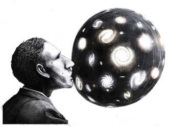 Hubble Bubble by Thecreakyattic