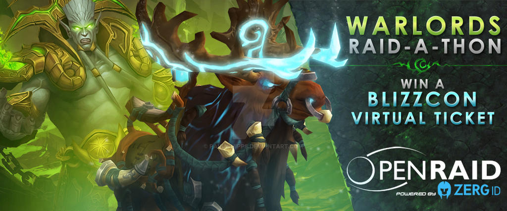 OpenRaid - Warlords of Draenor - Raid-A-Thon by PaulWhipps