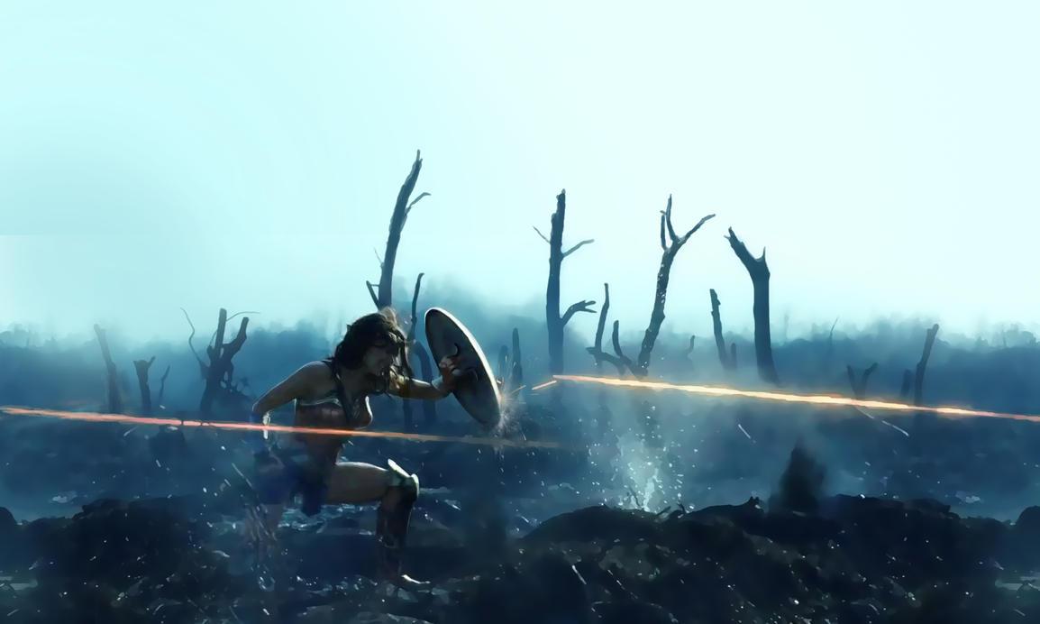 Wonder Woman - No Man's Land by PaulWhipps