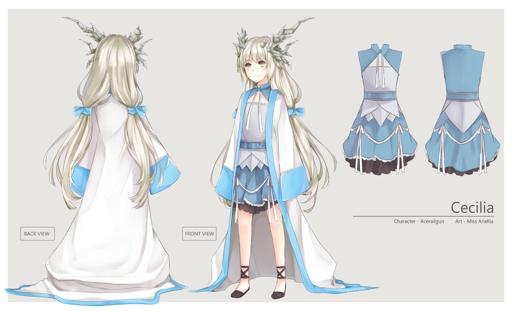 Character Design Style Sheet : Com character sheet design acerailgun by annabel m on