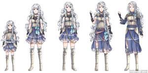 Character Design com 3 - luminaresaga