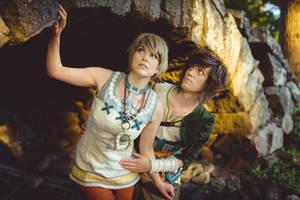 Zelda Twilight Princess - Ordon Link and Ilia expl by UltraCosplay