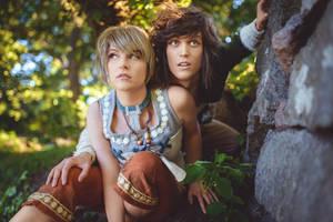 Zelda Twilight Princess - Hiding from King Bulbin by UltraCosplay
