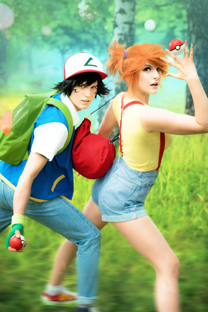 Misty and Ash Pokemon cosplay by UltraCosplay ...  sc 1 st  DeviantArt : pokemon costumes ash  - Germanpascual.Com