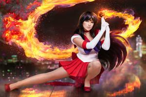 Sailor Moon - Sailor Mars cosplay by UltraCosplay